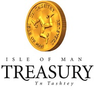 Isle of Man Government Treasury Department Logo